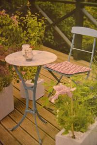 Foto: Zahrada na balkoně