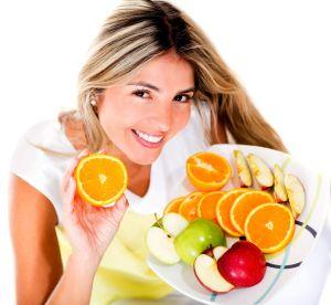 Žena s ovocem