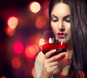 červené víno