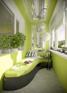 Pohodový balkón