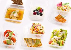 Ukázka krabičkového jídla