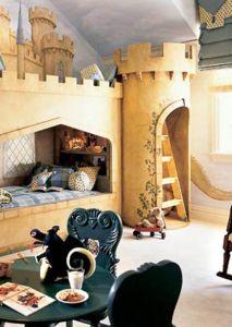 Pokojíček jako hrad