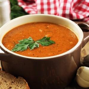 Polévka z červené čočky