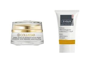 Krém Collistar lze zakoupit za 930,-, Ziaja s vitaminem C a SPF 6 lze zakoupit za 185,-