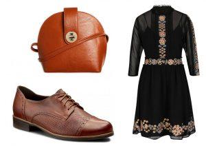 Kabelku lze zakoupit v prodejnách Lindex, boty lze zakoupit v internetovém obchodě Eobuv.cz a šaty lze zakoupit v internetovém obchodě ZOOT