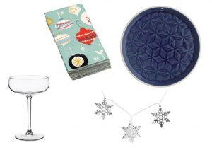 Sklenice můžete zakoupit v OD IKEA, ubrousky, světélka a talíře můžete zakoupit v internetovém obchodě Bonami.